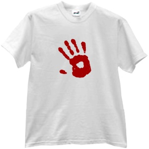 Tricou Hand Stamp