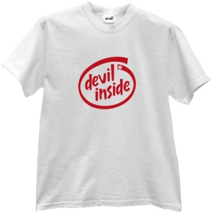Tricou Devil inside