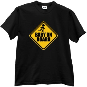 Tricou Baby on board