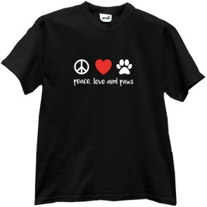 Peace, Love and Paws